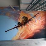 Houston TX Street Artist for Hire - Pilot FX