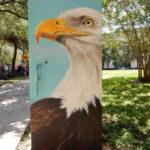 Electric Box Mural in Houston TX