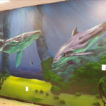 Houston Graffiti Mural of Whale by Pilot
