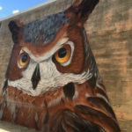 Owl Mural in Houston by Pilot FX