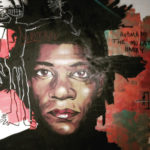 Spray Paint Art in New Orleans of Basquiat
