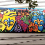 Colorful Graffiti Art in New Orleans