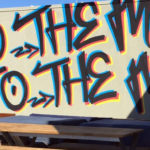 New Orleans Graffiti Lettering - To The Moon