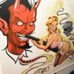 Devil Tattoo Style Artwork in Seattle