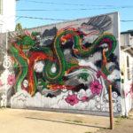 Street Art Mural of Dragon - Seattle, WA