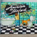 American Standard Cartoon Graffiti