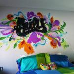 Bedroom Graffiti Art