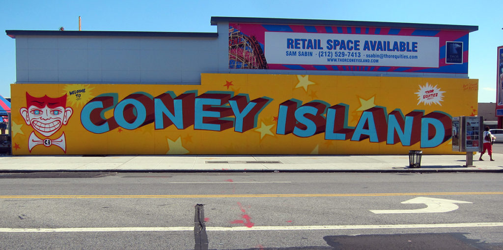 Coney Island Art by Curve