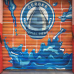 Roll Down Gate Mural for Gerber