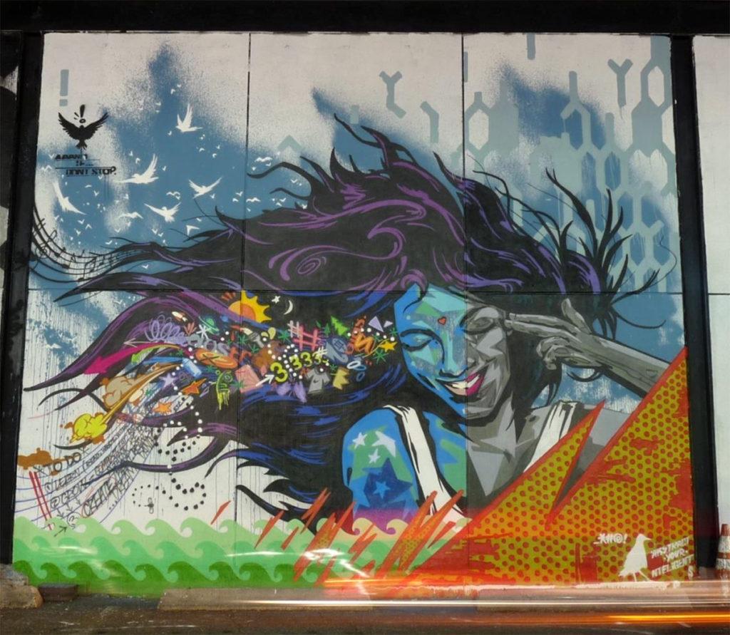 Ntel Graphic Portrait - Graffiti