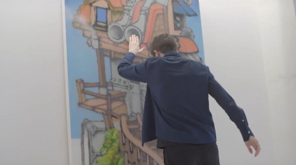 Mural Sound Art - Interactive