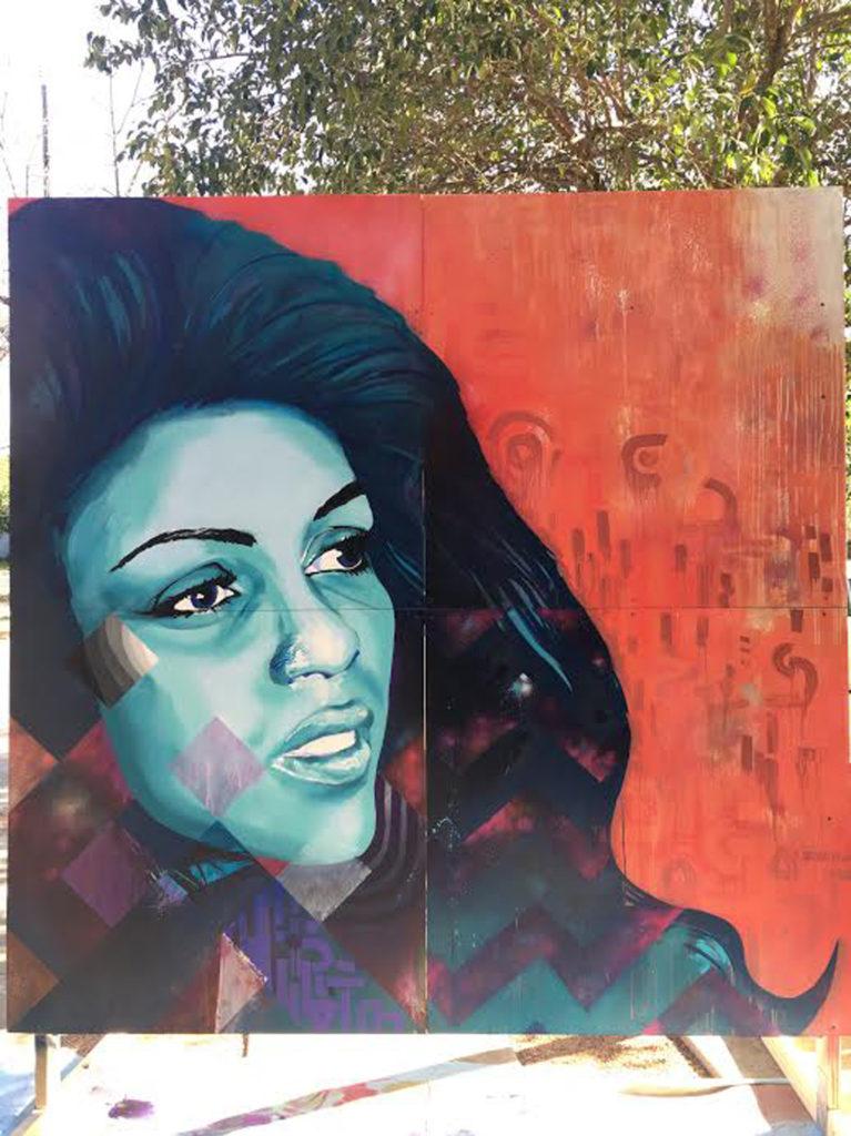 Festival Portraits Graffiti