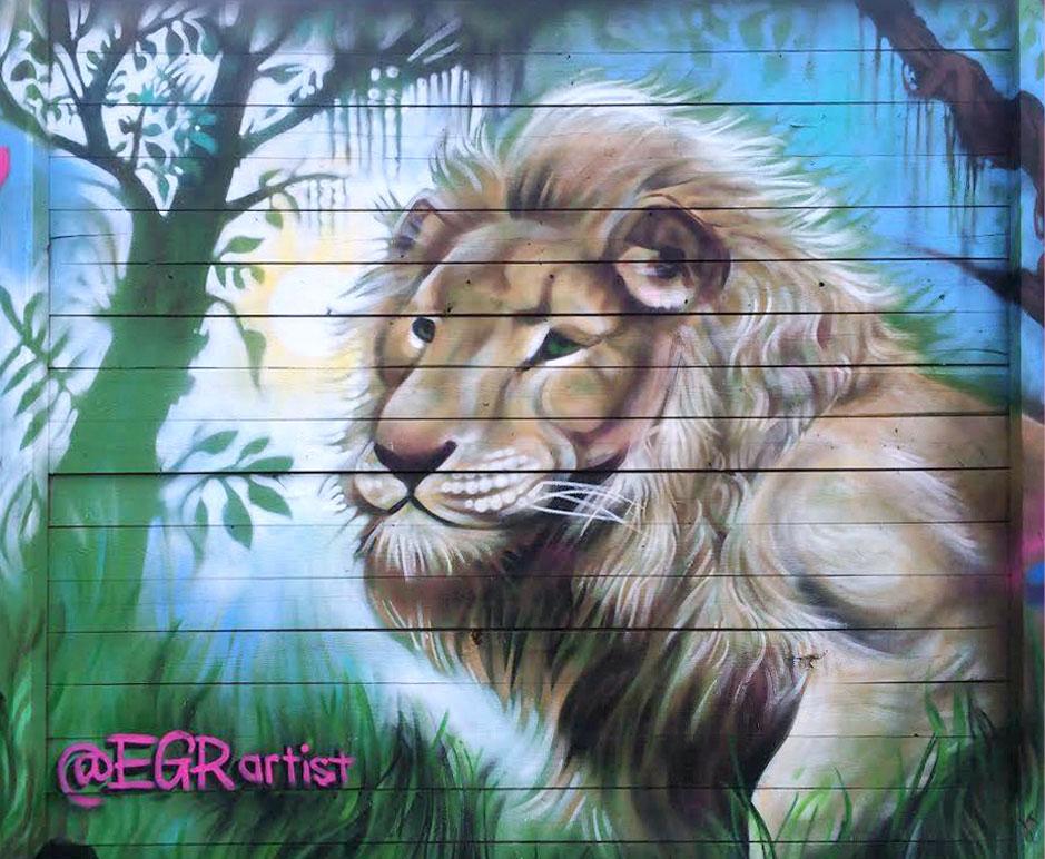 EGR Toronto Female Graffiti Artist