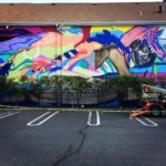 Elle Large Scale Mural
