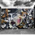 Elle Graffiti Monotone