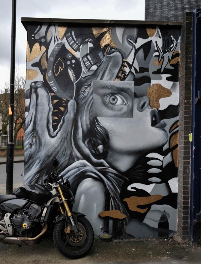Elle Collage Mural