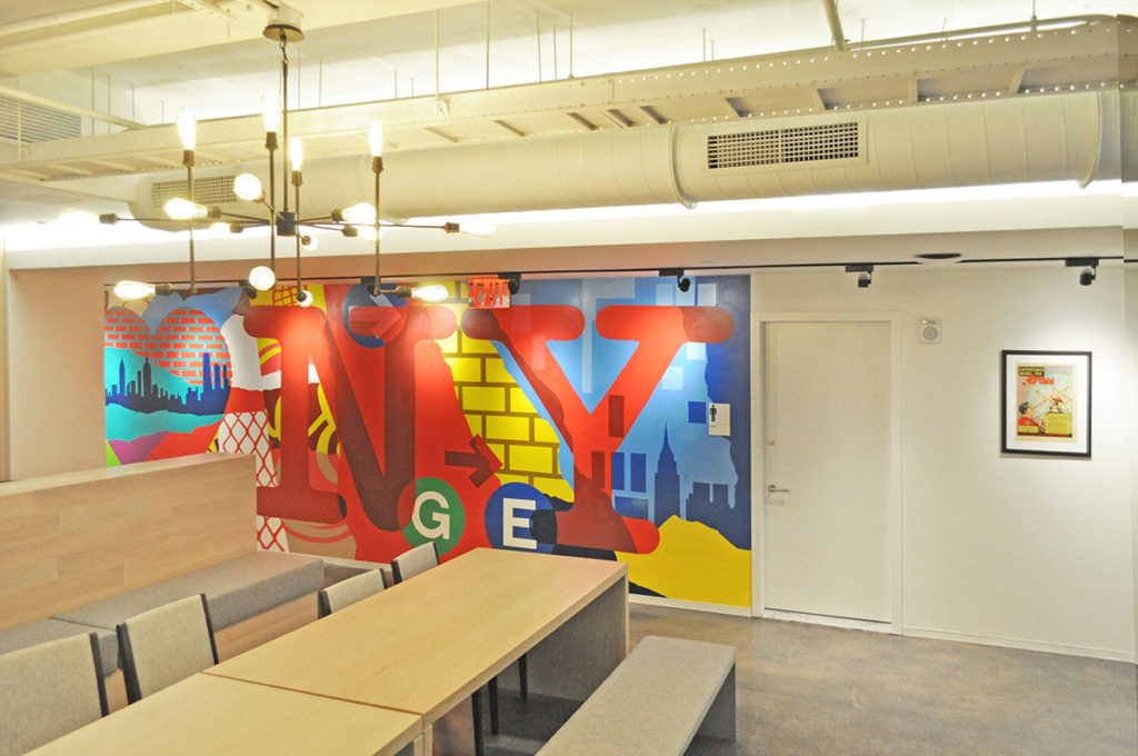 Office Space Graffiti GE