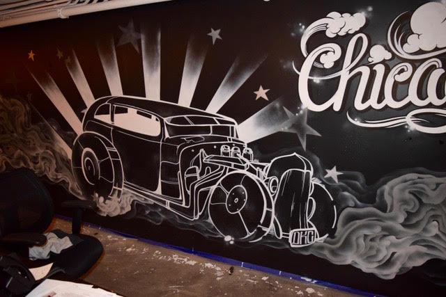 Chicago Car Graffiti