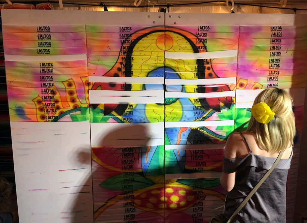 Austin Live Airbrush Graffiti Mural