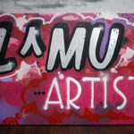LMU Lancome Graffiti Canvas