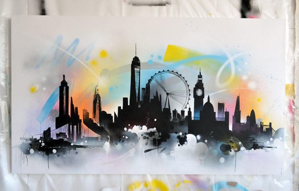 London NYC Canvas