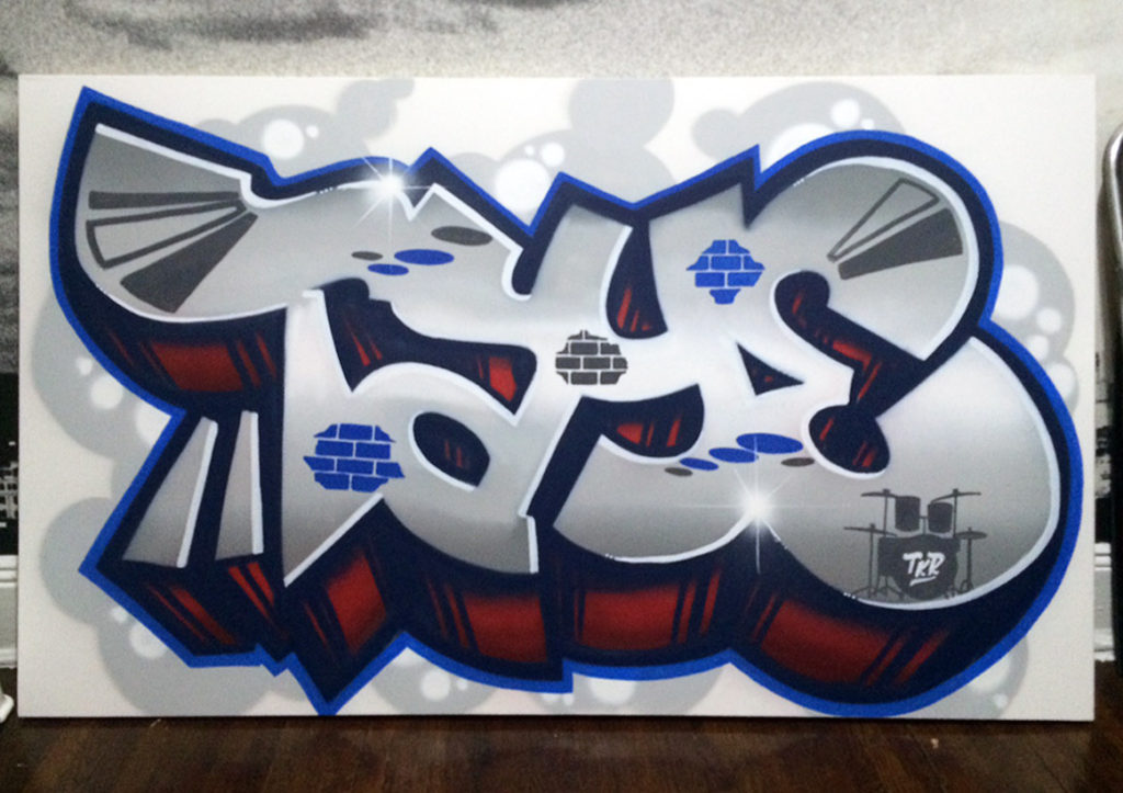 Taye Graffiti Canvas
