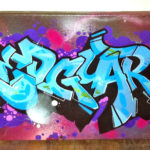 Redguard Custom Graffiti Canvas