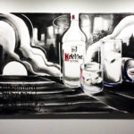 Ketel One Graffiti Canvas