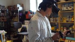 VR Headset - Digital Graffiti Technology