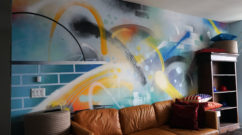 Living Room Graffiti