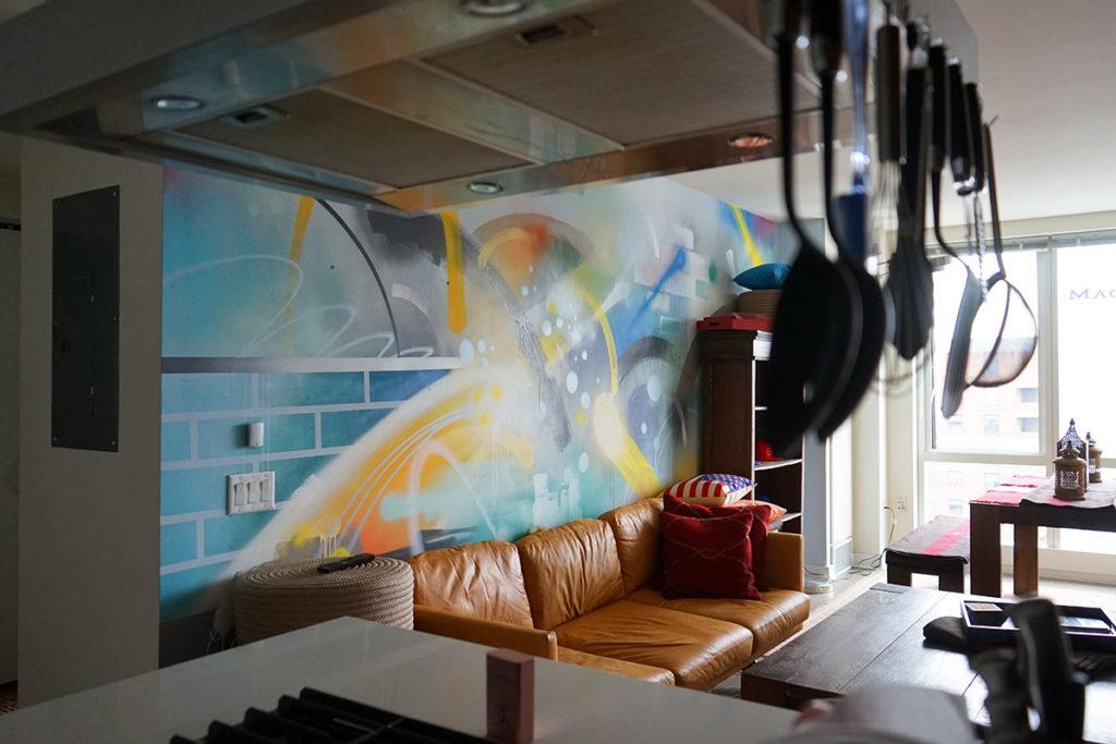 Graffiti Environment Interior Design