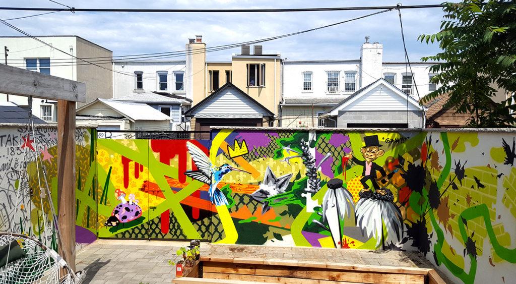 Residential Graffiti Art Queens