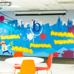 Booker.com Office Mural in NYC