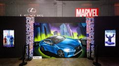 Las Vegas Graffiti for Lexus Marvel Collaboration
