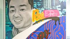 Los Angeles Trifecta graffiti tribute