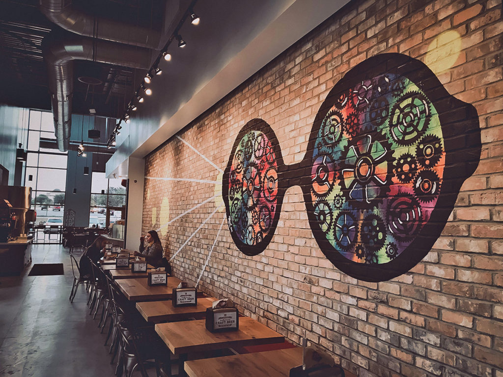 New Murals For Mod Pizza In San Antonio Graffiti Usa