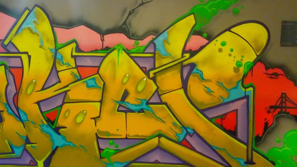 Joker Graffiti Street Artist