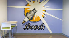 Bosch Mural Installation