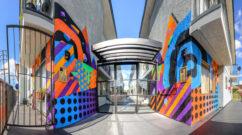 L.A. street art mural
