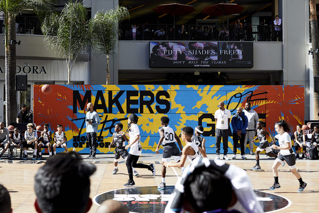Nike Graffiti Mural