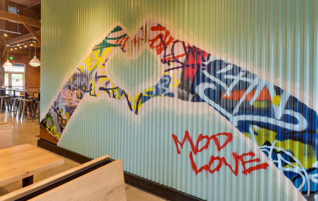 Virginia Graffiti Mural