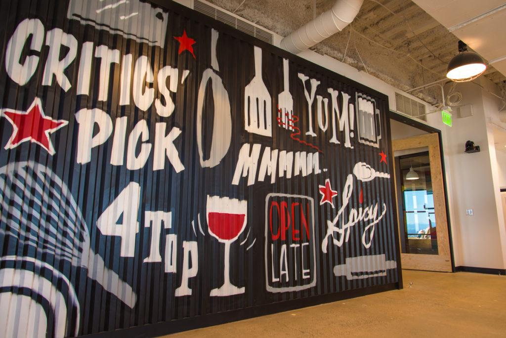 denver graffiti mural - open table