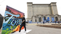 Ford Michigan Central Graffiti