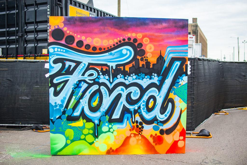 Detroit Live Art Ford