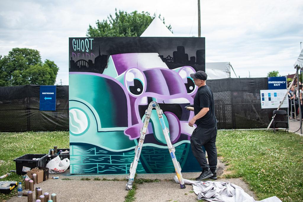 Detroit Street Artist