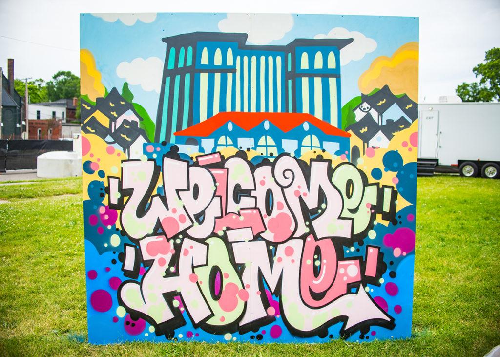 Detroit Live Painting