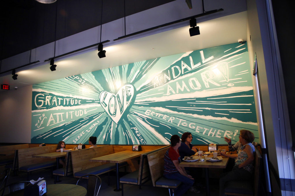 Mod Pizza Mural in Miami