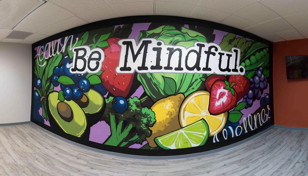 Be Mindful - Las Vegas Mural