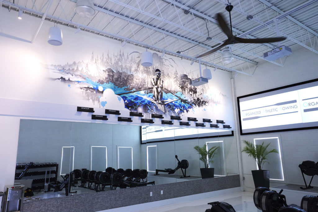 Rowing Studio Mural