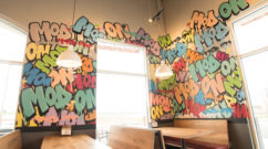 Graffiti Mural Mod Pizza